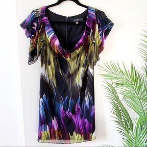 NWT Ted Baker London | brushstroke Mini Dress